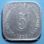Monnaies Bayeux (14). Union Commerciale et Industrielle. 5 centimes
