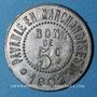 Monnaies Bayonne (64). Au Printemps. 5 centimes 1902