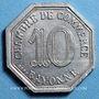 Monnaies Bayonne (64). Chambre de Commerce. 10 centimes 1920