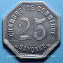 Monnaies Bayonne (64). Chambre de Commerce. 25 centimes 1920