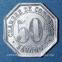 Monnaies Bayonne (64). Chambre de Commerce. 50 centimes 1920