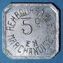 Monnaies Bayonne (64). Droguerie Canton. 5 centimes