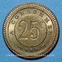Monnaies Besançon (25). G. Joly. 25 centimes à consommer