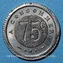 Monnaies Besançon (25). G. Joly. 75 centimes à consommer