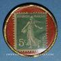 Monnaies Bordeaux. Caobania. 5 centimes (vert/rouge)