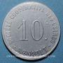 Monnaies Boulogne Billancourt (92). Sté des Usines Renault. 10 centimes