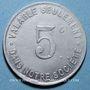 Monnaies Boulogne Billancourt (92). Sté des Usines Renault. 5 centimes