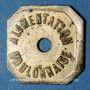 Monnaies Boulogne-sur-Mer (62). Alimentation Boulonnaise. Ristourne sans valeur