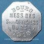 Monnaies Bourg-en-Bresse (01). Mess des Sous-Officiers du 23e. Bourg. 50 centimes 1918