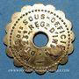 Monnaies Bourg-en-Bresse (01). Mess des Sous Officiers du 23e Regt d'Infanterie. 15 centimes
