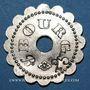 Monnaies Bourg-en-Bresse (01). Mess des Sous Officiers du 23e Regt d'Infanterie. 25 centimes