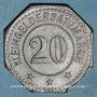 Monnaies Bouxwiller (67). 20 pfennig 1917