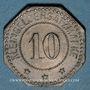Monnaies Bouzonville (57, Lorraine) (Busendorf), Lothringer Walzengiesserei. 10 pfennig