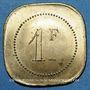 Monnaies Cannes (06). Brasserie du Casino. 1 franc