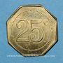 Monnaies Castres (81). Au Printemps - Ch. Desplats. 25 centimes