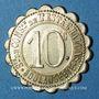 Monnaies Châlons-sur-Marne (51). Société de Consommation de l'Est. Boulangerie. 10 centimes