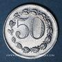 Monnaies Châteauneuf (35). Camp de prisonniers de guerre allemands. 50 centimes