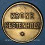 Monnaies Châtenois (67). Krone (restaurant La Couronne). 10 pfennig