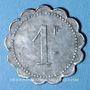 Monnaies Cholet (49). Cantine GIRARD - 77e d'Infanterie. 1 franc