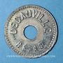 Monnaies Corbeil-Essonnes (91). Decauville (Usine de chemins de fer portatifs). 1/4 vin