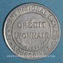 Monnaies Crédit Lyonnais. 5 centimes (vert/rouge)