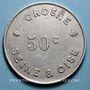Monnaies Crosne (91). Usine Baille-Lemaire et Fils. 50 centimes