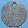 Monnaies Crouy (02). Forges de l'Aisne. 3V
