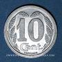 Monnaies Evreux (27). Chambre de Commerce. 10 centimes 1921