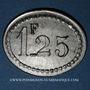 Monnaies Grenoble (38). Taverne des Dauphins. 1 franc 25