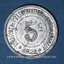 Monnaies Hérault (34). Syndicat de l'Alimentation en Gros. 5 centimes 1922, type fauté avec HERAUT