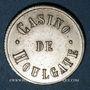 Monnaies Houlgate (14). Casino. Jeton sans valeur. Maillechort