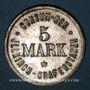Monnaies Illkirch-Graffenstaden (67). Consum-Genossenschaft (1873-79). 5 mark