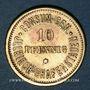 Monnaies Illkirch-Graffenstaden (67). Consum-Genossenschaft (1873-79). 5 pfennig