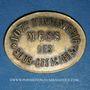 Monnaies Infanterie. 107e. Mess des Sous-Officiers. Angoulême (16). 50 centimes