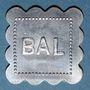 Monnaies Jeton de bal anonyme. Bon pour 1 danse