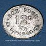 Monnaies L'Horme (42). Café Duplanil. 12 centimes 1/2