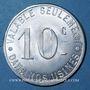 Monnaies La Courneuve (93). Société Rateau. 10 centimes