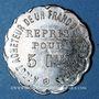 Monnaies Laval (53). Au Gagne Petit (rue Joinville, 63). 5 centimes