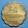 Monnaies Longwy (54). Aciéries de Longwy - Hôtel Economat. 20 centimes 1883