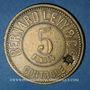 Monnaies Lyon (69). Bernard Levy & Cie. 5 francs