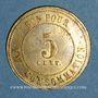 Monnaies Lyon (69). Brasserie Hoffherr. 5 centimes