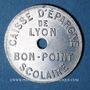 Monnaies Lyon (69). Caisse d'Epargne de Lyon. bon point scolaire