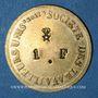 Monnaies Lyon (69). Société des Travailleurs Unis. 1 franc
