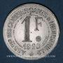 Monnaies Maisons-Laffite (78). Association des Commerçants et Industriels. 1 franc 1920