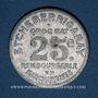 Monnaies Mauléon (64). Etcheberrigaray (épicier). 25 centimes