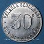 Monnaies Melun (77). Dragages et Travaux Publics - Georges Malgrain. 30 centimes