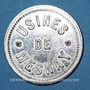 Monnaies Mesnay (39). Usine de Mesnay. 1 franc