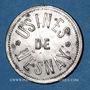 Monnaies Mesnay (39). Usine de Mesnay. 2 francs