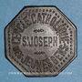 Monnaies Metz (57). Cercle Catholique Saint Joseph. 1 bière