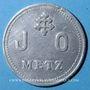 Monnaies Metz (57). J. O. (Jeunes Ouvriers). sans valeur